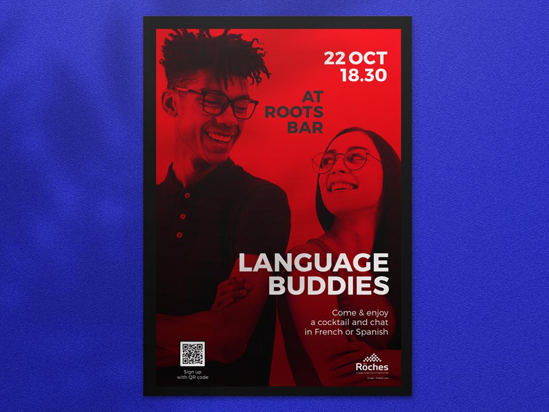 Affiche language buddies